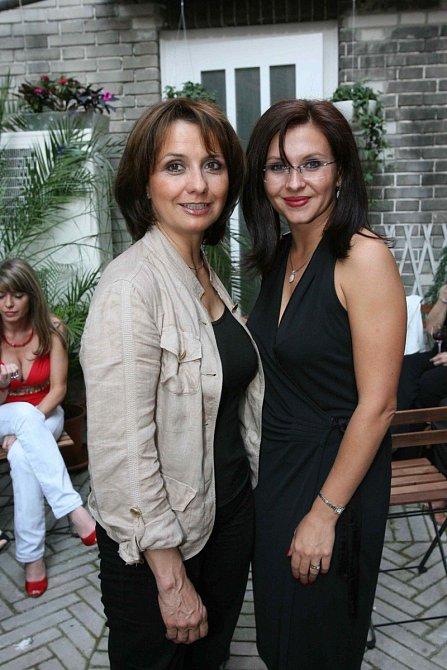 Veronika Freimanová a Dana Morávková