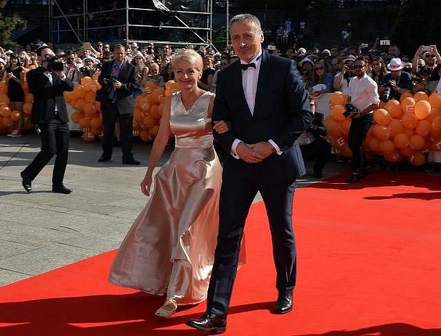 Veronika Žilková s manželem Martinem Stropnickým.