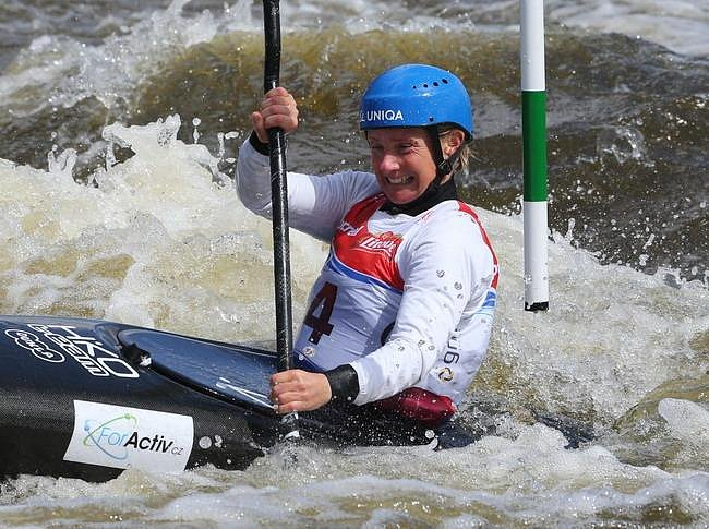 Štěpánka Hilgertová (*1968), česká vodní slalomářka - dvojnásobná olympijská vítězka