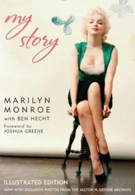 """18. Herečka napsala svou autobiografii s názvem """"My Story"""". Kniha byla vydána deset let poté, co zemřela."""