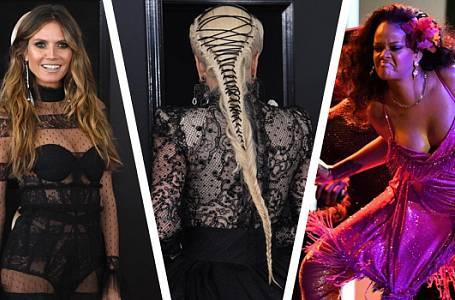 Grammy 2018: Černou nahradila bílá růže a dech všem vyrazila Heidi Klum i Rihanna!