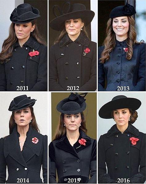 I přesto, že si Kate některé modely oblékne víckrát, má velmi obsáhlý šatník.