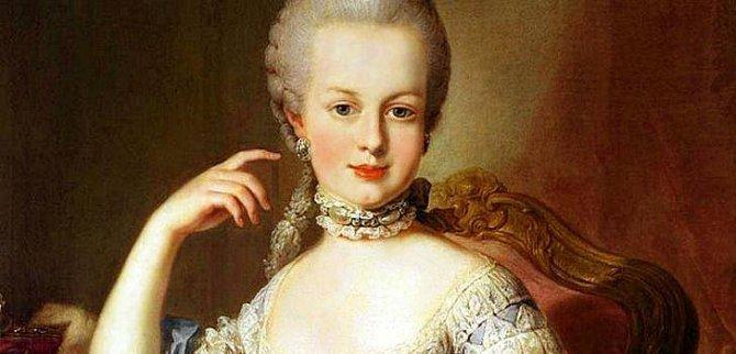 Tvářenku používala už Marie Terezie.