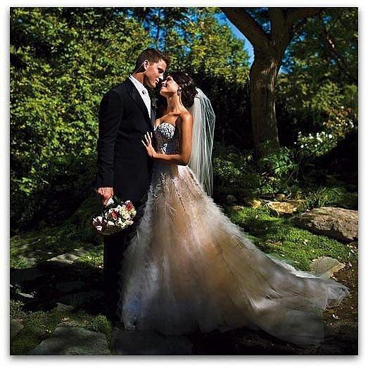 Svatba s Jennou se odehrála v Malibu.