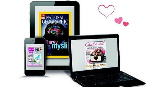 Jedinečná valentýnská nabídka: Předplatné časopisů za 50% ceny