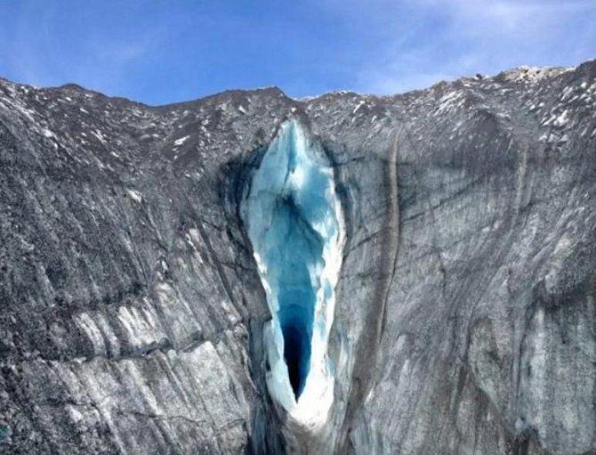 Optické iluze - jenom ledovec