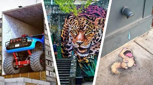 Neuvěřitelné umění ulice aneb Tohle byste cestou do práce chtěli potkávat také!