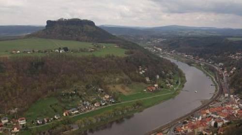 Velkolepá pevnost Königstein