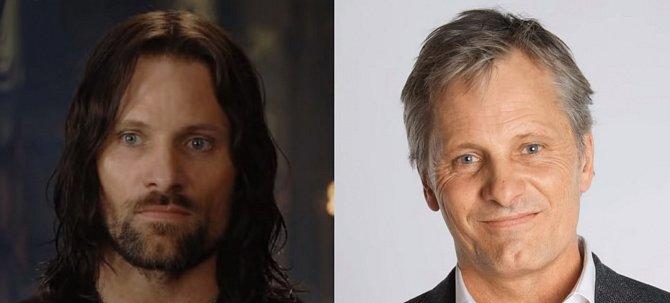 Odvážný vojevůdce Aragorn se neohroženě bil za sebe, své přátelé, svou rodinu, zkrátka za všechny. Vládce Gondoru hrál Viggo Mortensen, ostřílený pan herec.