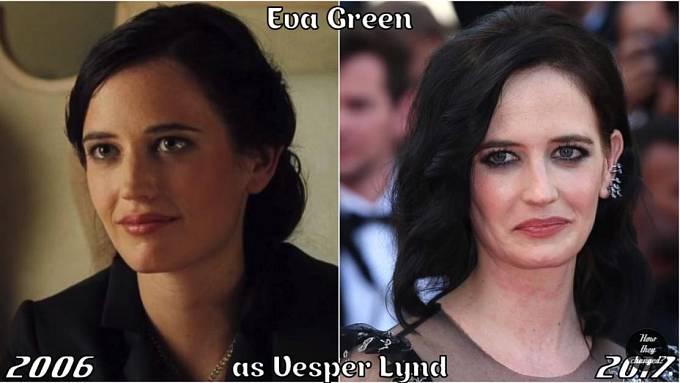 Herečka Eva Green coby Vesper Lynd