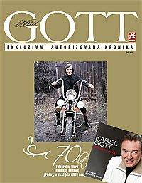 Karel Gott - exkluzivní autorizovaná kronika s CD zdarma Zůstanu svůj