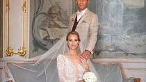 Petra Vraspírová se vdala za svého partnera. Vypadala jako z pohádky.