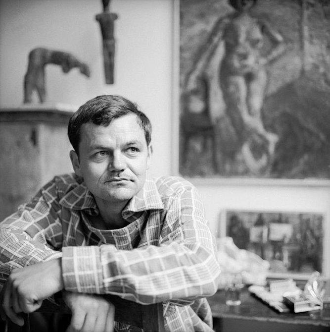 Alfred Hrdlicka (1928-2009), rakouský sochař českého původu