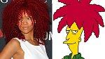 Rihanna, nebo šáša Krusty