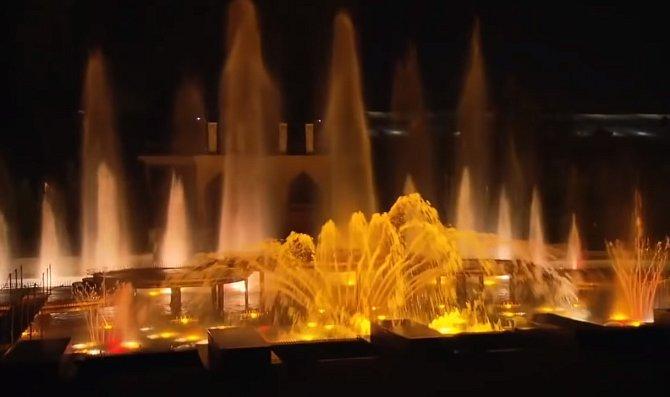 František Křižík, který vynalezl tramvaj, vymyslel i krásnou svítící fontánu na Výstavišti v pražských Holešovicích.