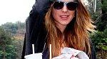 Lindsay Lohan si dopřála skutečně pořádný oběd.