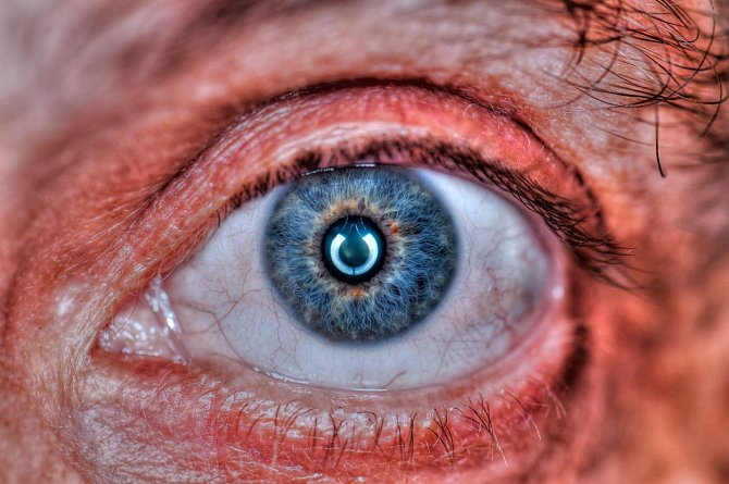 I lidské oko je zajímavé.