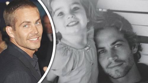 Legenda RYCHLE A ZBĚSILE PAUL WALKER po sobě zanechal dceru. Dnes je z ní kráska!
