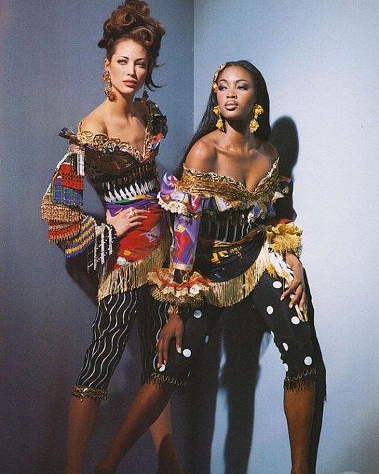 S Naomi spolupracovala velmi často.
