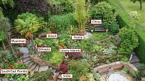 Během svých cest si přivezli rostliny z celého světa.