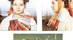 Ilustrační foto - nevěsta s tradiční pokrývkou hlavy v Litvě