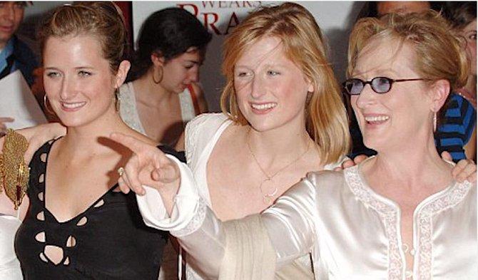 Meryl Streep a Mamie a Grace Gummer