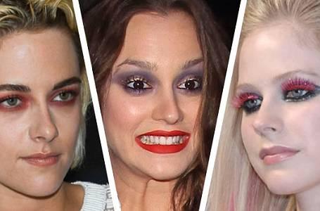 Přešlapy celebrit s make-upem na červeném koberci