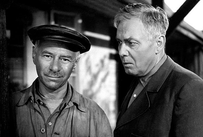 Ladislav Pešek a Jan Pivec ve filmu Kasaři