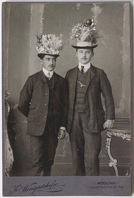 Humor před 100 lety