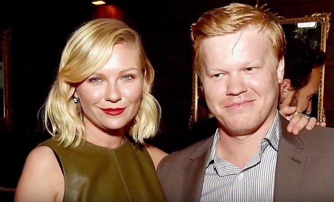 Herečka Kirsten Dunst (35) a Jesse Plemons (29), který je také herec se těší na svého prvního společného potomka.