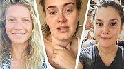 Celebrity bez make-upu