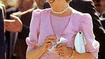 Jemné barvy princezně Dianě slušely.