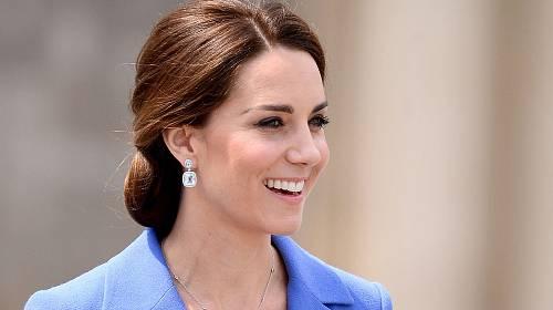 Usměvavá vévodkyně z Cambridge