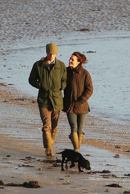 Vévodkyně Kate a princ William s Lupem