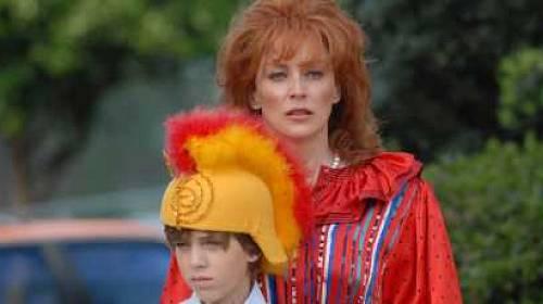 Rocket se Sharon Stone na Barrandov TV