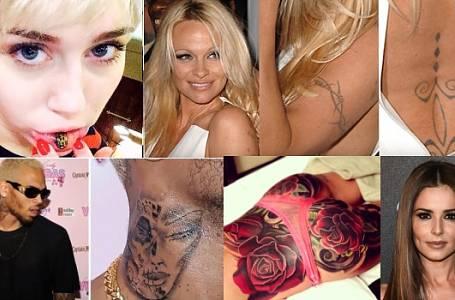Nejhorší tetování Hollywoodu