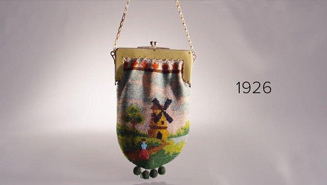 Vzhled kabelky - rok 1926