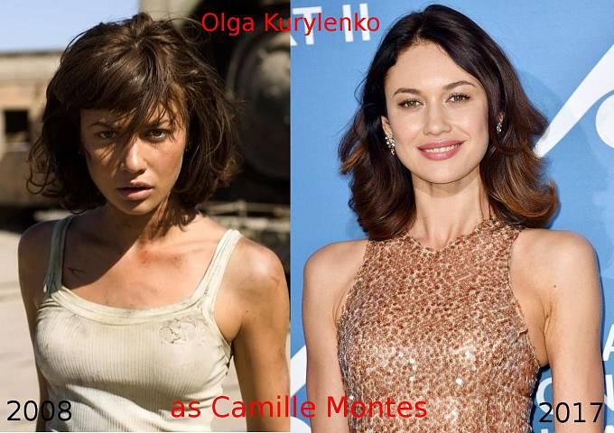Herečka Olga Kurylenko coby Camille Montes