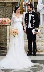 Prozatím poslední svatba ve Švédské královské rodině proběhla roku 2015 a korunní princ Švédska si vzal Sophii Hellqvist.