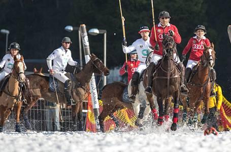 Tip na víkend: Koňské pólo na sněhu unikátně ve Špindlu