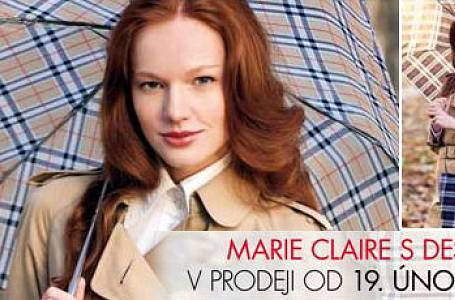Marie Claire s dárkem, elegantním deštníkem