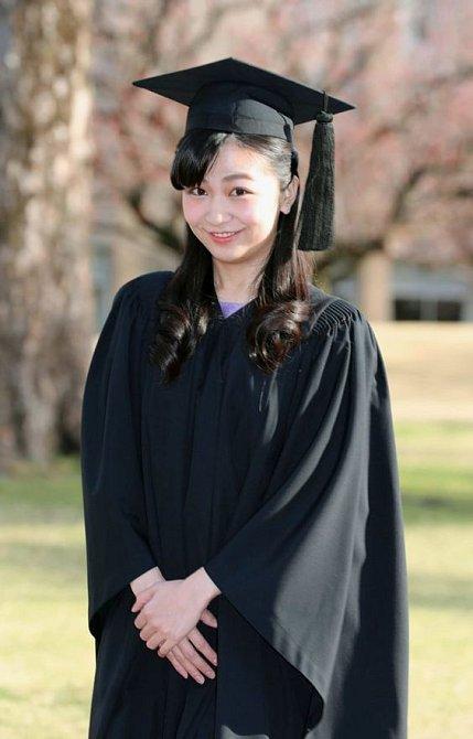 Princezna Mako potkala svou životní lásku při studiu na univerzitě.