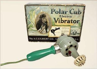 Elektrický vibrátor z roku 1928 ženy vykoupily dva dny po jeho uvedení na trh.