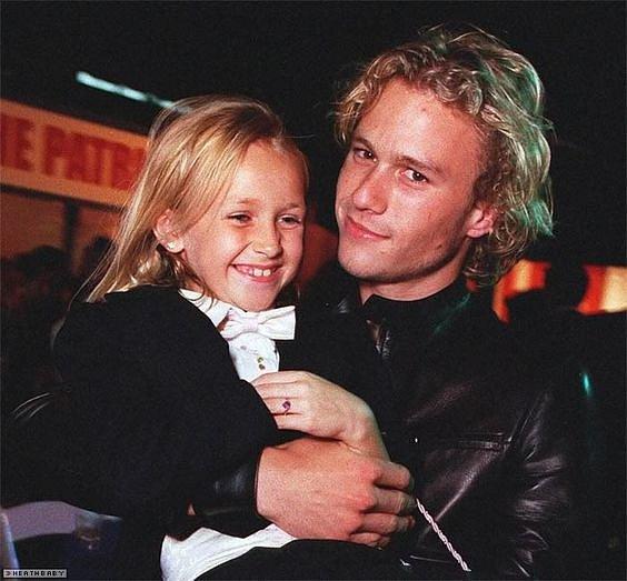 Se svou jedinou dcerou Matildou trávil všechen volný čas.