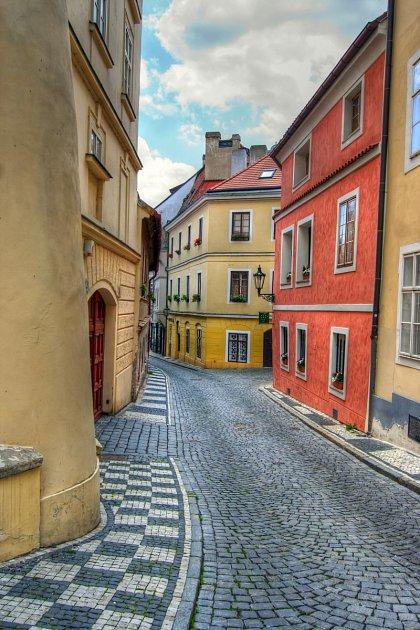 Pražské uličky po kterých běhali hlavní hrdinové
