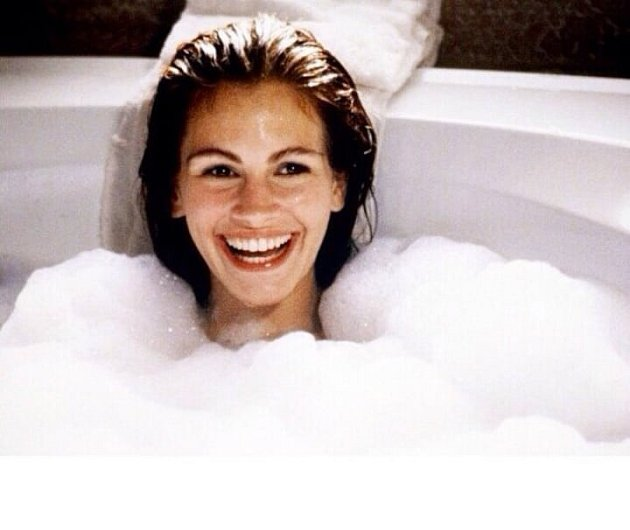 Julia Roberts ve filmu Pretty Woman