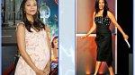 Zoe Saldana 10 týdnů po porodu dvojčat