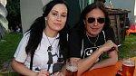 Aleš Brichta s manželkou