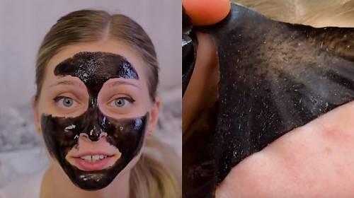 Černá maska: Podívejte, jak zázračně vyčistí vaše póry!