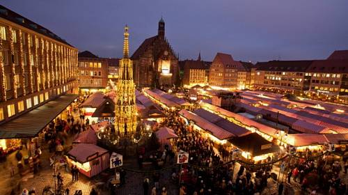 Praktický průvodce vánočními trhy v Norimberku